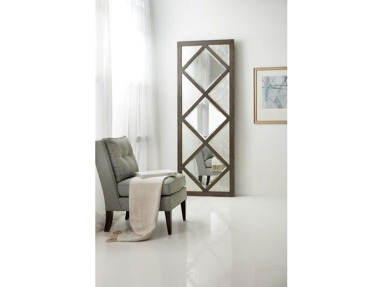 Hooker Furniture Accents Melange Chateau Floor Mirror