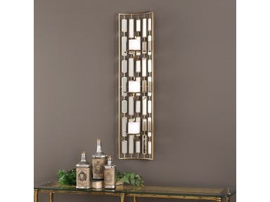 Uttermost Accessories Loire Mirrored Wall Sconce
