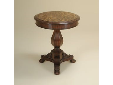 Walnut Finished Occasional Table