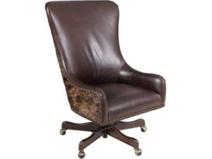 Here's the Hooker Furniture Home Office Harry Executive Swivel Tilt Chair for your ranch style bungalow.