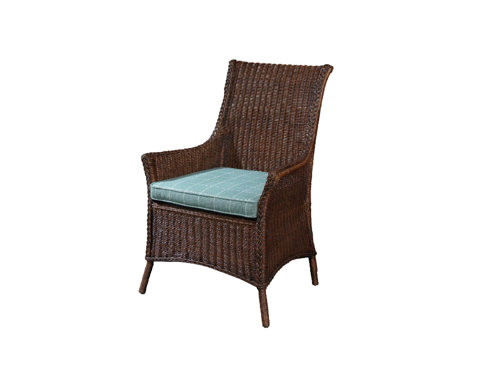 Summer Home Cottage Wicker Arm Chair