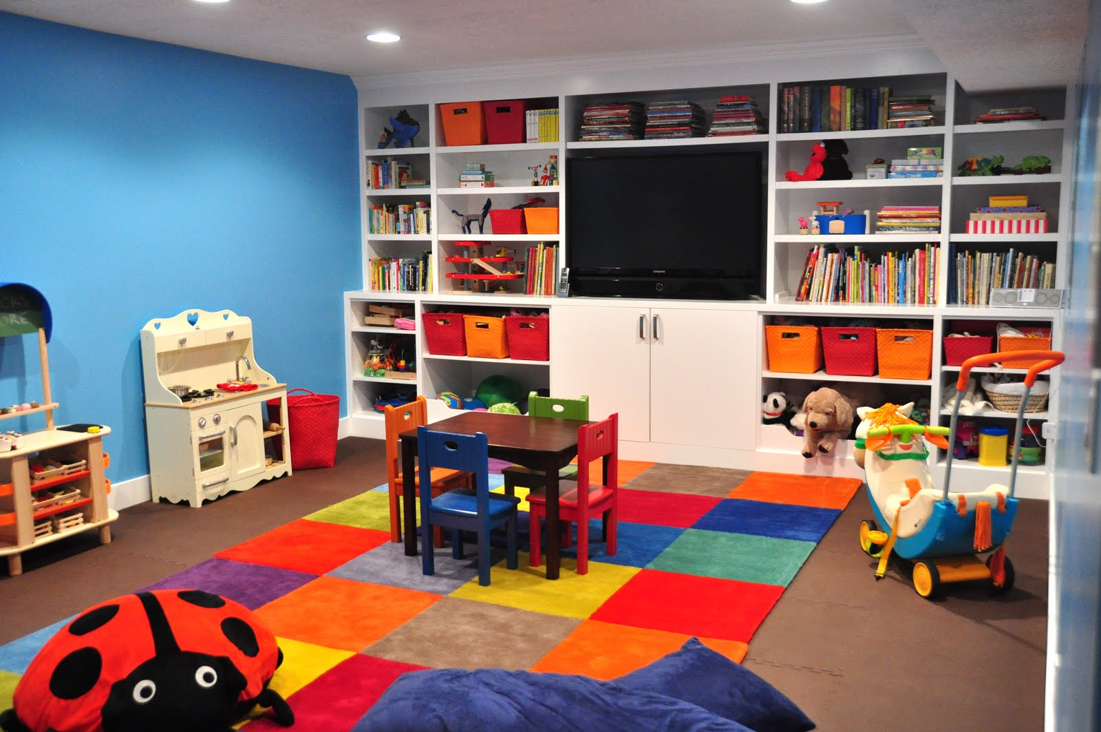 Kids' Playroom Designs