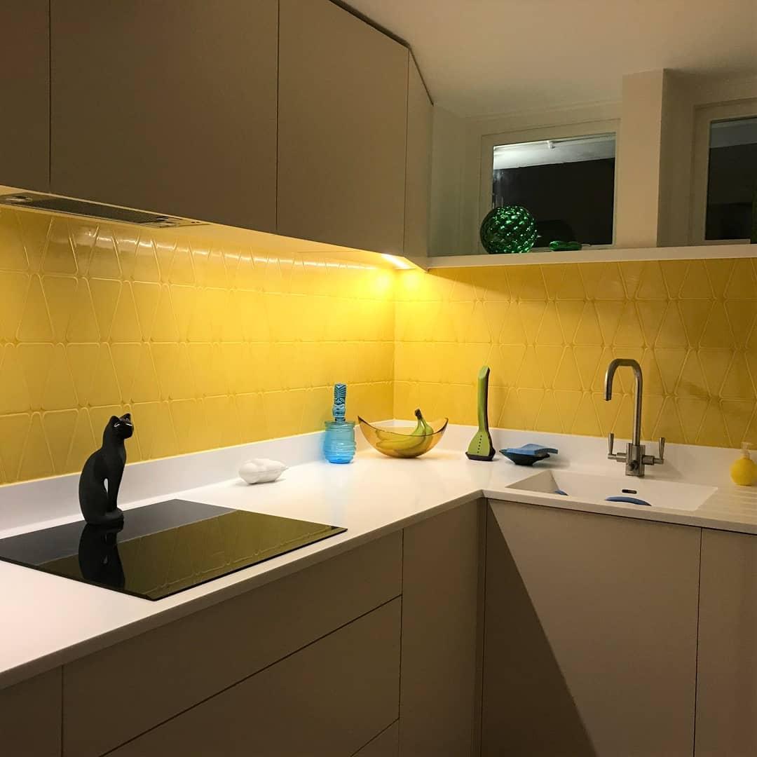 Yellow Tiles Yellow Kitchen Ideas Business Brokerage Blogs