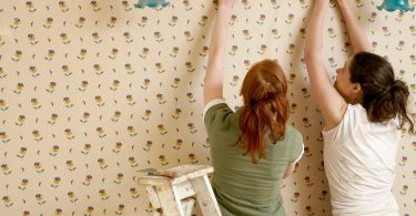 Stripping Ugly Wallpapers